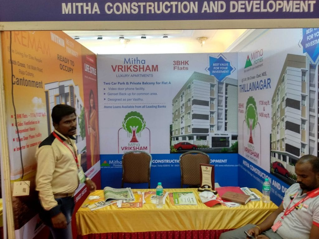 Mithu Construction & Development - White and Black